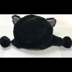 😻✨Children's Place Faux Fur Cat Plush winter Hat✨